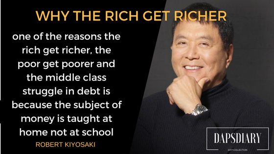 why the rich are getting richer and the poor poorer